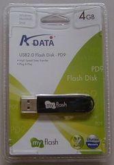大量D保存に4GB USBメモリ