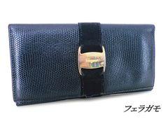 ◆フェラガモ 長財布 黒 d959
