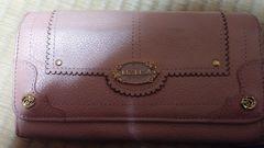 長財布   リズリサ  薄いピンクにラメ  状態は綺麗です