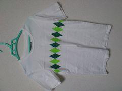 RHYTHM OF LIFE アーガイルシャツ