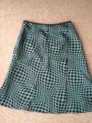 ミッシェルクラン幾何学模様スカート送料込み