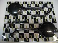 (977)ZEPHYRゼファー400χ新品Z�Uミラー黒