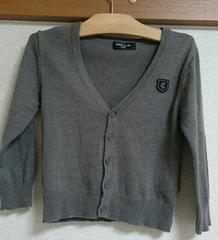 ☆COMME CA ISM ニットカーディガン100☆