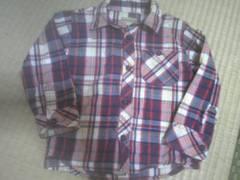 ◆チェックシャツ◆95CM◆