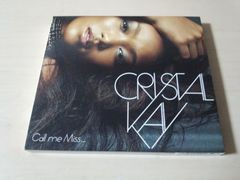 クリスタル・ケイCD「Call me Miss...」Crystal Kay初回DVD付●