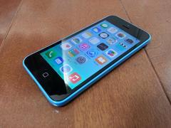 特価品!!美中古品 iPhone 5c 16GB ブルー
