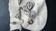 STAR JEWELRY ジルコニア馬蹄ネックレス