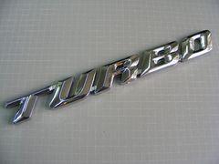 ● NEWデザイン TURBO ターボ エンブレム クローム仕様 ●