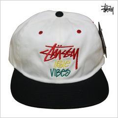即決新品 STUSSY キャップ◆ステューシー レゲエ ストリートCAP帽子