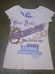 Tシャツ/半袖/ピンク系/Fサイズ/子供から大人まで使用可能