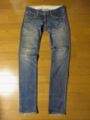 □FACTOTUM/ファクトタム ヴィンテージ加工 スキニー デニムパンツ/W29・メンズ