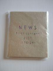 〒送料込みNEWS FIRST CONCERT 2007シールブックin Taipei