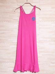 美品◇GAP レディース KIDS 150 キャミソールワンピース ピンク