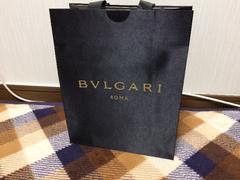 美品ブルガリBVLGARI紙袋ショップ袋ショッパー