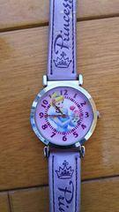 シンデレラ☆腕時計 パープル かわいい