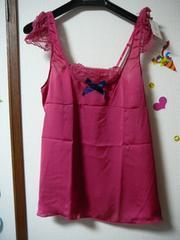 アンフィ ベビードールMサイズ濃ピンクSYK331