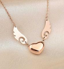 Victoria's jewelry �n�[�g���H �s���N�S�[���h�̃l�b�N���X