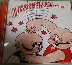 �޽�CD RC�T�N�Z�V���� WONDERFUL DAYS1970-80���쐴�u�Y