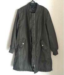 FOREVER21 ボンバーロングジャケットS ほぼ新品
