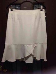 新品ウエスト70cm★マーメイドスカート★裾フリル/大きいサイズ