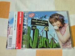 CD 水樹奈々 セカンドアルバム MAGIC ATTRACTION 通常盤