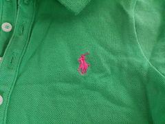 ★ラルフローレン★ポロシャツ★緑★