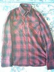 アタッチメント チェックシャツ