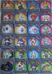 ★妖怪ウォッチ★サントリー☆ミニコースター全24種(6点同→計30点)