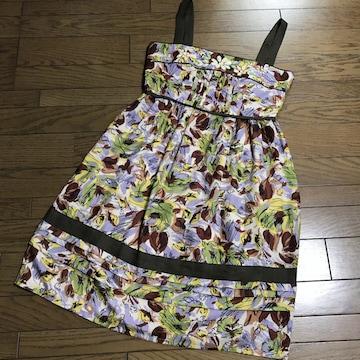 マスタード色 スカート 春の画像