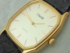 2608復活祭★Clarith☆ゴールドCOLORケースクラシカルメンズ腕時計格安