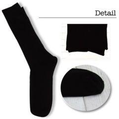 送料値引新品メンズ靴下5点セットブラック冠婚葬祭