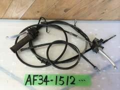 ☆AF34 ライブディオ 前後 ブレーキワイヤー AF35 SR ZX
