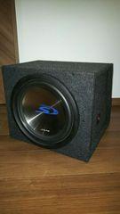 ■美品!!アルパインSWS-1242D MAX900W+ボックス&配線■