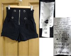 made in USA �A�����J�� �n�C�E�G�X�g �V���[�g�p���c L ��