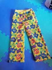 BABYDOLL☆フリース総柄パンツ☆ベビードール 黄色