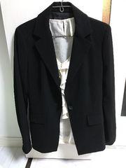 エム・プルミエ M-PREMIER スーツ ジャケット 黒 美品