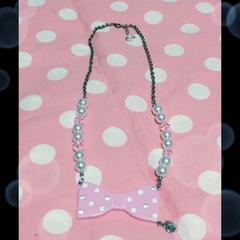 ☆Fantasic ribbonネックレス(ピンク)☆