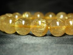 大人気!!最強のパワー「ゴールドルチル」数珠