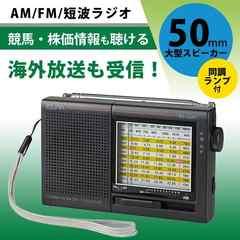 ELPA(エルパ) AM・FM短波ラジオ アナログ表示 ER-C54T
