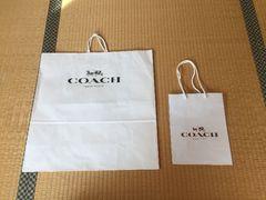 本物☆コーチ☆まとめ売り☆紙袋☆ショップ袋☆2枚