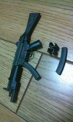 1/6フィギュア用 MP5A4 予備マガジン&クリップ付き