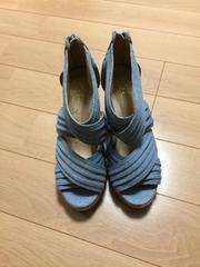 新品☆彡デニムサンダル♪S