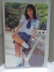 星川亜美テレホンカードスクールウエアコレクション