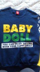 BABY  DOLLトレーナーLサイズ美品