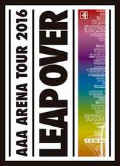 即決 AAA ARENA TOUR 2016 -LEAP OVER -初回限定盤 Blu-ray 新品