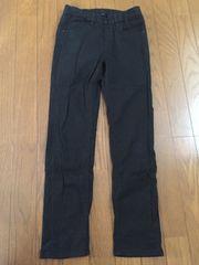 UNIQLO☆黒カラーパンツ☆L/140cm