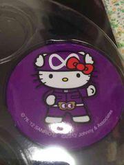関ジャニ∞*8EST*キティ缶バッジ*紫*村上信五