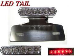 【高品質】大玉6連LEDテールTW200TW225SR400トリッカーWR250XWR250R
