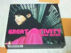 CD+DVD 水樹奈々 アルバム GREAT ACTIVITY 初回限定盤