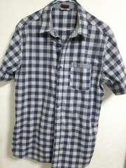 ナイキ チェックシャツ L